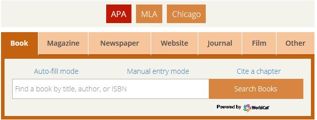 Have New APA Style Citation Power generators Conveniently Structure A person's Reference point Internet page
