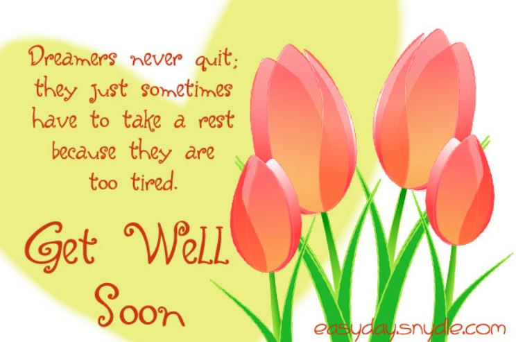 Feel Better Soon Quotes Awesome 30 Get Well Soon Wishes Messages And Quotes For All